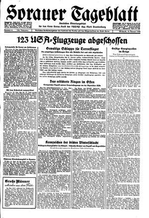 Sorauer Tageblatt vom 12.01.1944