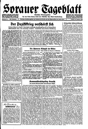 Sorauer Tageblatt vom 14.01.1944