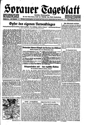 Sorauer Tageblatt vom 20.01.1944