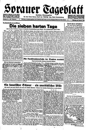 Sorauer Tageblatt vom 24.01.1944