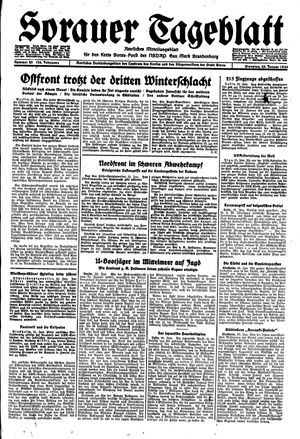 Sorauer Tageblatt on Jan 25, 1944