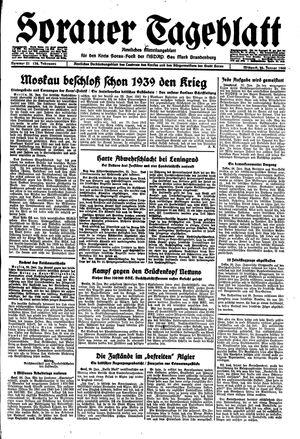 Sorauer Tageblatt vom 26.01.1944