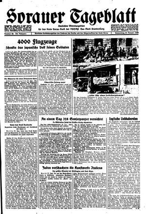 Sorauer Tageblatt vom 27.01.1944
