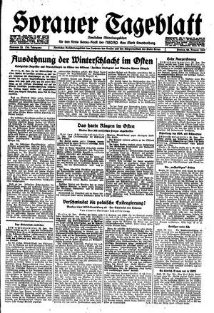 Sorauer Tageblatt vom 28.01.1944