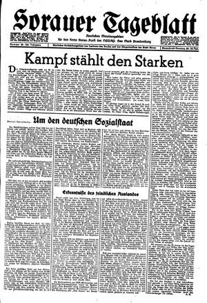 Sorauer Tageblatt vom 29.01.1944