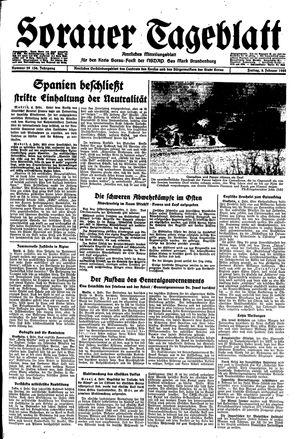 Sorauer Tageblatt on Feb 4, 1944