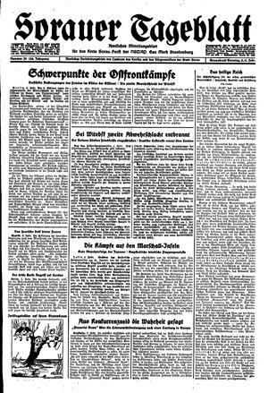 Sorauer Tageblatt vom 05.02.1944