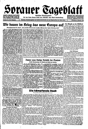 Sorauer Tageblatt vom 08.02.1944