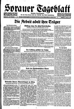Sorauer Tageblatt vom 09.02.1944