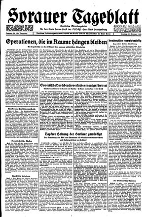 Sorauer Tageblatt vom 11.02.1944