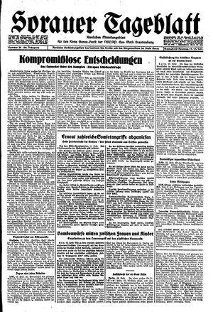 Sorauer Tageblatt vom 12.02.1944