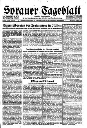 Sorauer Tageblatt vom 14.02.1944