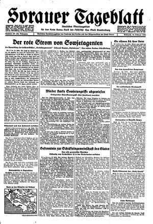 Sorauer Tageblatt vom 16.02.1944