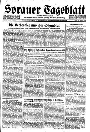 Sorauer Tageblatt vom 18.02.1944