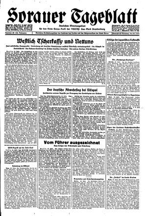 Sorauer Tageblatt vom 19.02.1944