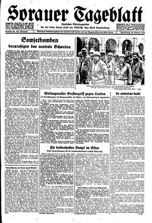Sorauer Tageblatt vom 24.02.1944