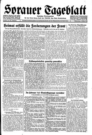 Sorauer Tageblatt vom 02.03.1944