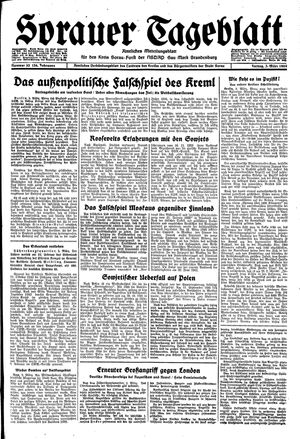 Sorauer Tageblatt vom 03.03.1944