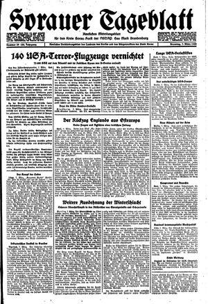Sorauer Tageblatt on Mar 7, 1944