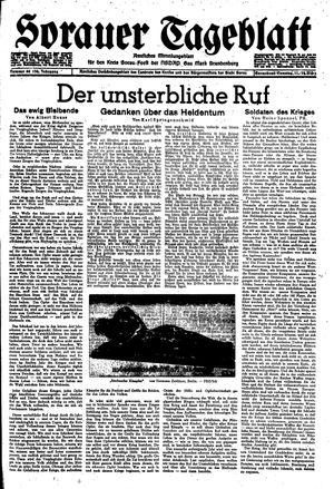 Sorauer Tageblatt vom 11.03.1944