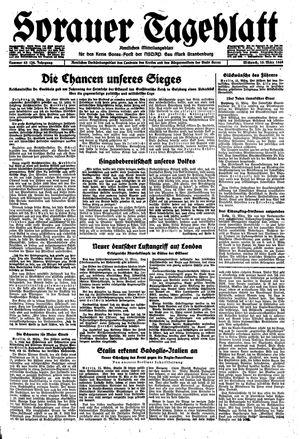 Sorauer Tageblatt vom 15.03.1944