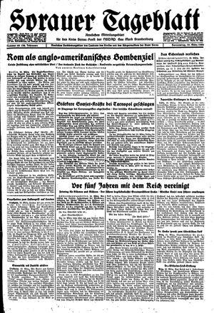 Sorauer Tageblatt vom 16.03.1944