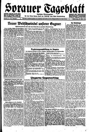 Sorauer Tageblatt vom 23.03.1944