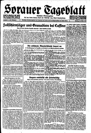 Sorauer Tageblatt vom 24.03.1944