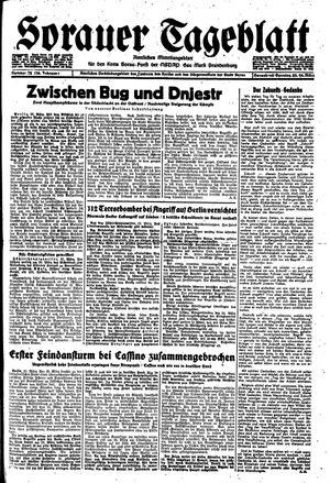 Sorauer Tageblatt vom 25.03.1944