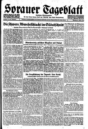 Sorauer Tageblatt vom 27.03.1944