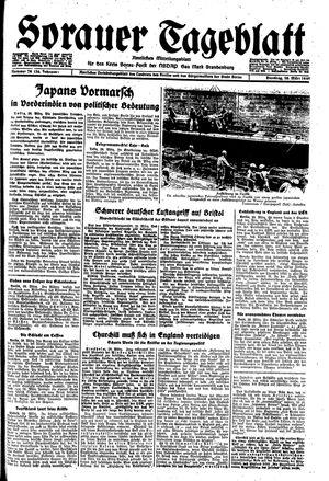 Sorauer Tageblatt vom 28.03.1944