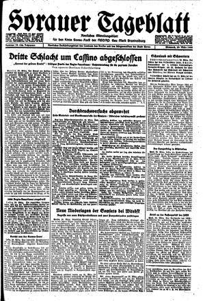 Sorauer Tageblatt on Mar 29, 1944