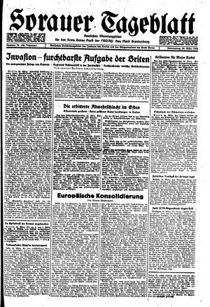 Sorauer Tageblatt vom 30.03.1944