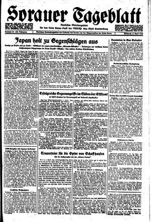 Sorauer Tageblatt vom 05.04.1944