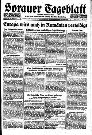 Sorauer Tageblatt vom 06.04.1944