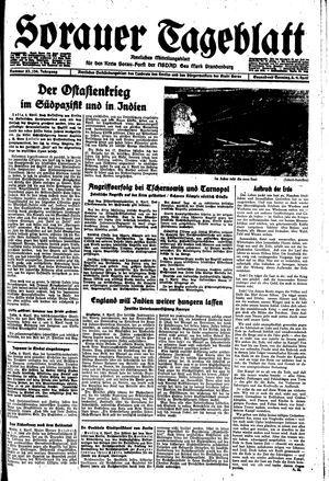 Sorauer Tageblatt vom 08.04.1944