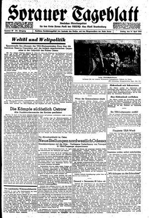 Sorauer Tageblatt vom 14.04.1944