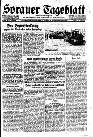 Sorauer Tageblatt vom 21.04.1944