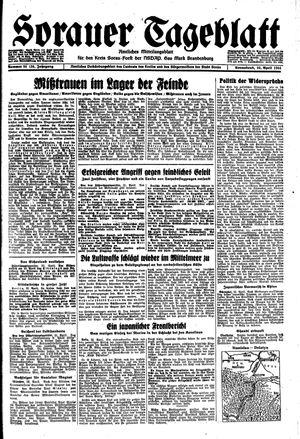 Sorauer Tageblatt vom 22.04.1944