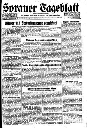 Sorauer Tageblatt vom 24.04.1944