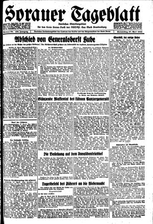 Sorauer Tageblatt vom 27.04.1944