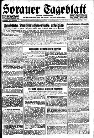 Sorauer Tageblatt vom 28.04.1944