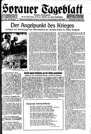 Sorauer Tageblatt vom 29.04.1944