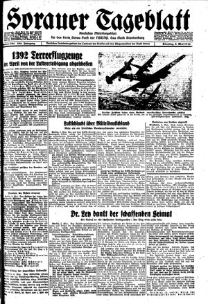 Sorauer Tageblatt vom 02.05.1944