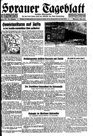 Sorauer Tageblatt vom 03.05.1944