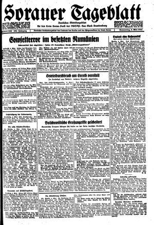 Sorauer Tageblatt vom 04.05.1944