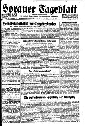 Sorauer Tageblatt vom 12.05.1944
