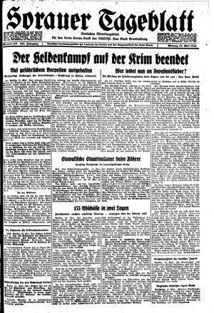 Sorauer Tageblatt on May 15, 1944