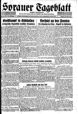 Sorauer Tageblatt on May 16, 1944