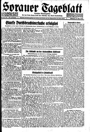 Sorauer Tageblatt vom 17.05.1944